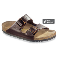 ARIZONA SL DARK BROWN SOFT FOOTBED