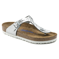 GIZEH SL SPECTRAL SILVER SOFT FOOTBED