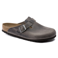 BOSTON OILED LEATHER IRON SOFT FOOTBED