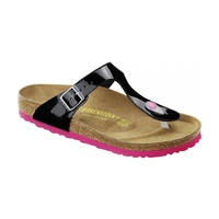 GIZEH BF BLACK PATENT sole PINK